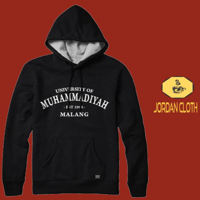 Jual Hoodie Sweater Pria Wanita University Of Muhammadiyah Malang Jakarta Timur Jordan Clothing Tokopedia