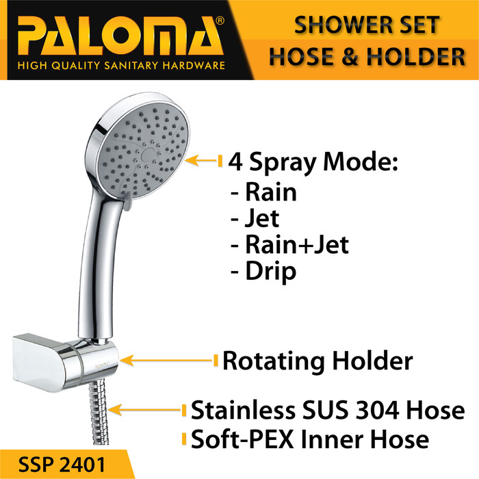 Foto Produk hand shower set Paloma || ssp 2401 dari pinangsiamas