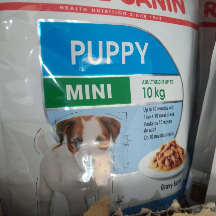 Foto Produk Royal canin Mini puppy wet Food pouch 85 Gram dari RUMPUT PETSHOP