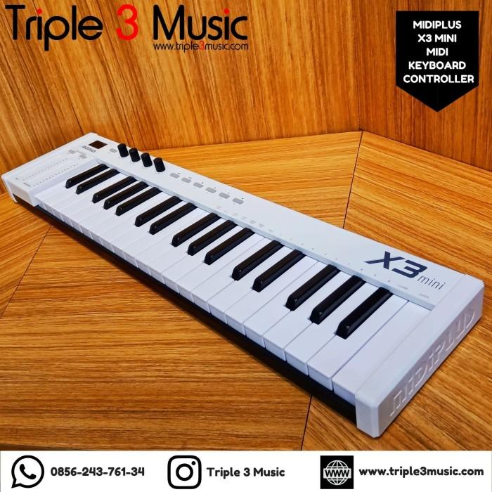Foto Produk MIDIPLUS X3 MINI 37 Keys Midi Controller ORIGINAL dari triple3music