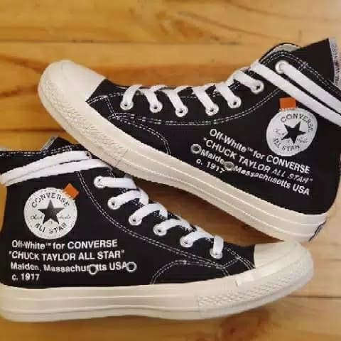 Jual CONVERSE 70S x OFF WHITE GLOSSY