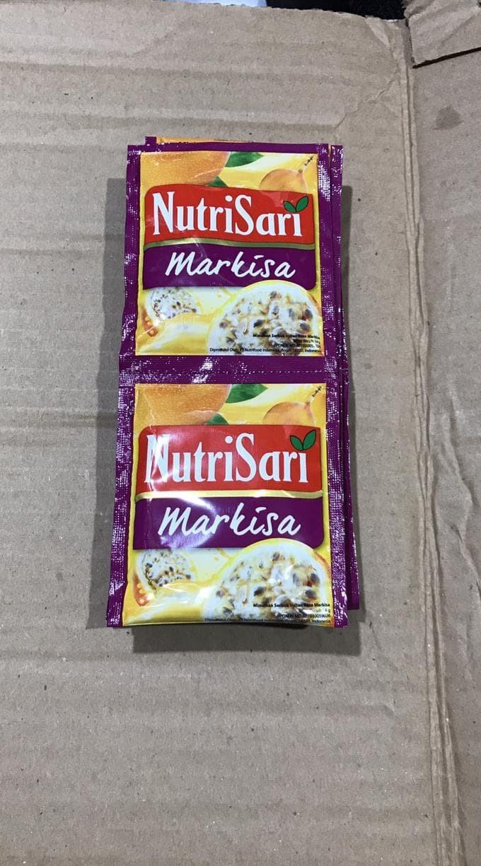 Jual Nutrisari Markisa 1 Renceng 10 Pcs Sacher Nutri Sari Pak Ungu Buah Jakarta Barat Fifihjudi