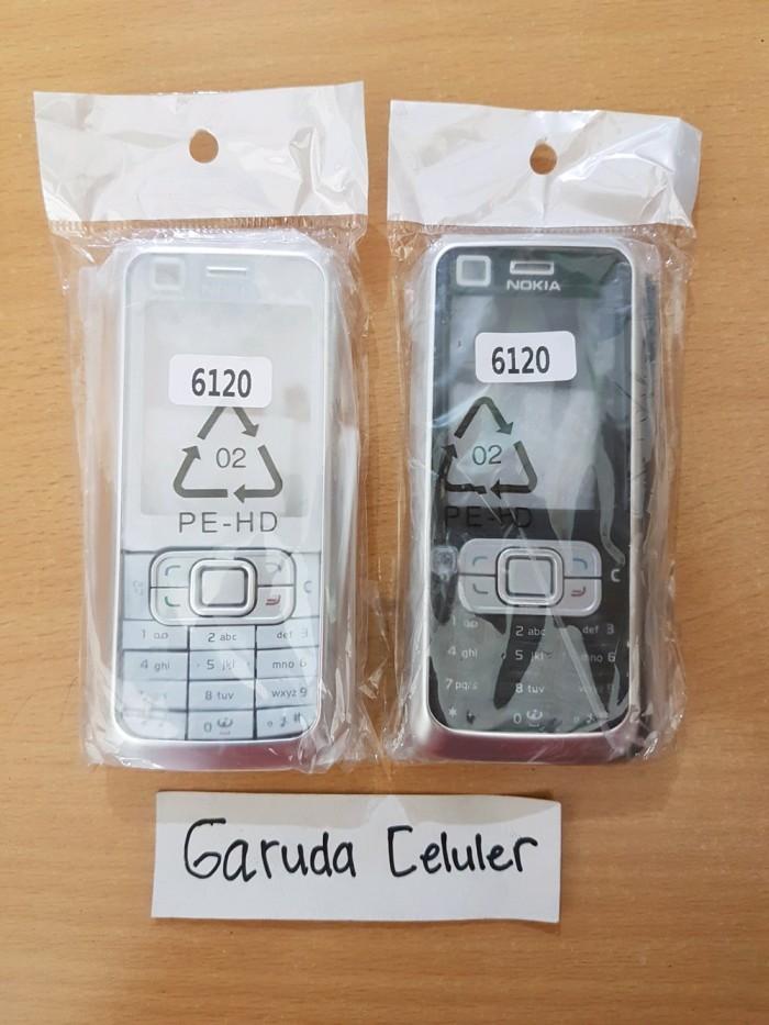 Foto Produk Casing Kesing Cs Nokia 6120C 6120 Clasis Depan Belakang dari donostore20