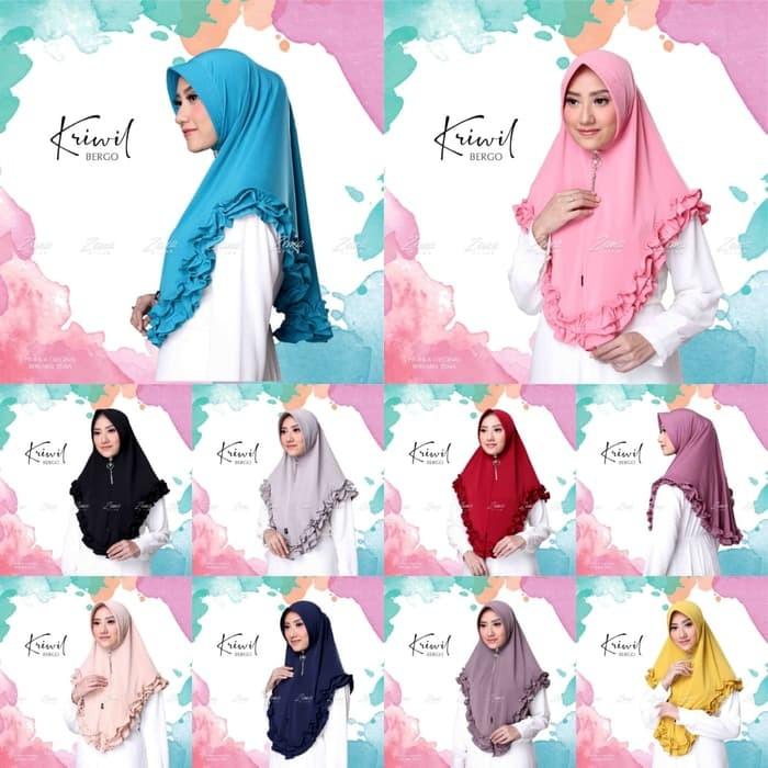 Jual Jilbab Bergo Pet Antem Jilbab Fahrani Kerudung Jersey Hijab Jakarta Selatan Kiandramulyani Tokopedia