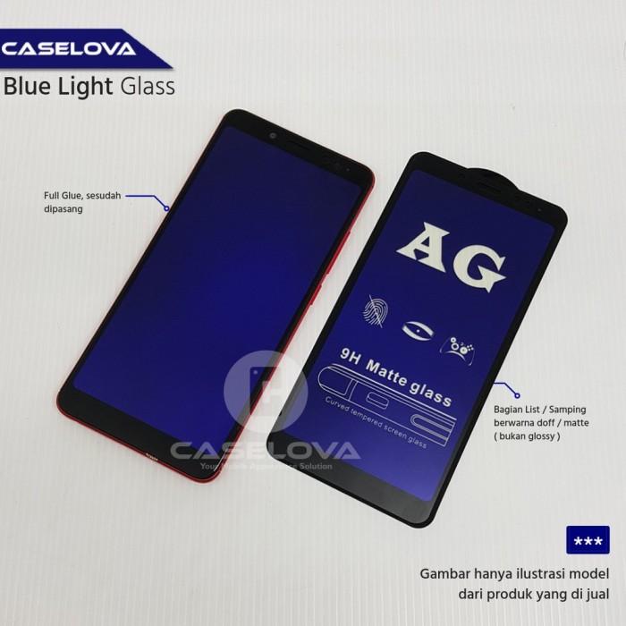 Foto Produk ANTI GORES BLUE LIGHT Samsung Galaxy A7 2018 A750 Full Cover Temp dari deastore20