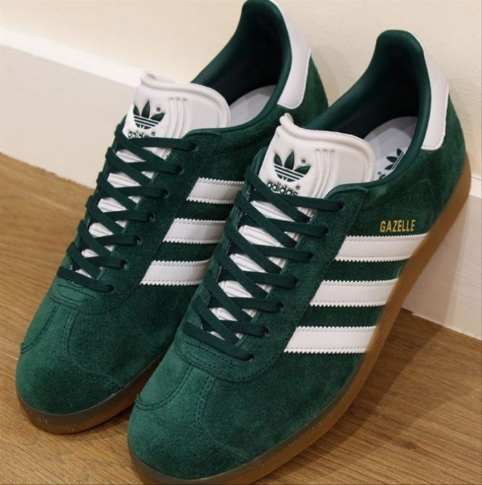 Jual Adidas Gazelle Green White