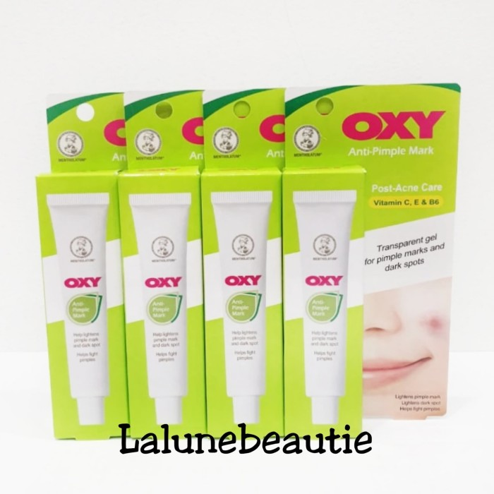 Foto Produk oxy anti pimple mark 12g dari Lalune