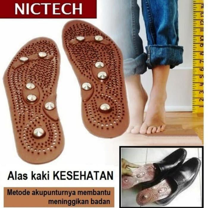 Foto Produk Alas Sepatu Niktech / Alas Kaki Magnet Terapi Kesehatan dari Henz Cell