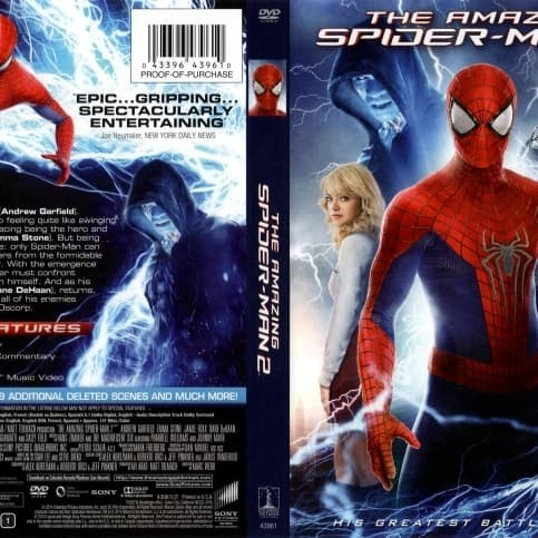 Jual The Amazing Spiderman 2 2014 Collection Koleksi Jakarta Barat M Collector Tokopedia