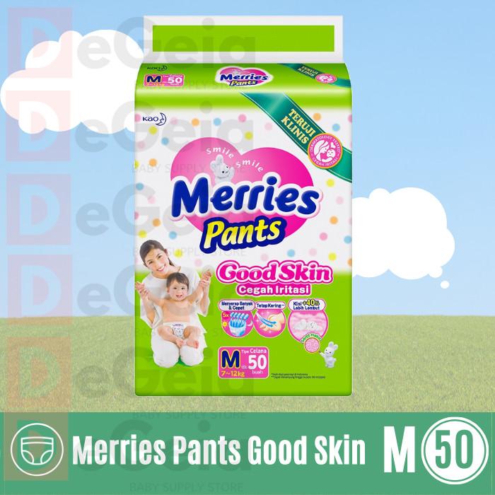 Foto Produk Diaper Popok Merries Pants Good Skin M-50 M50 M 50 dari DeGeia