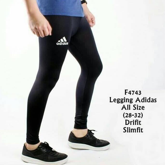 Jual Promo Celana Legging Panjang Pria Adidas Sport Gym Fitnes Jakarta Barat Chandani6 Store Tokopedia