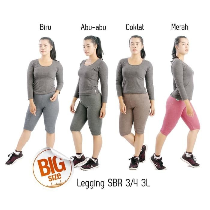 Jual Celana Legging Wanita 3 4 Celana Grosir 3l Kota Blitar Ghea Shoppp Tokopedia