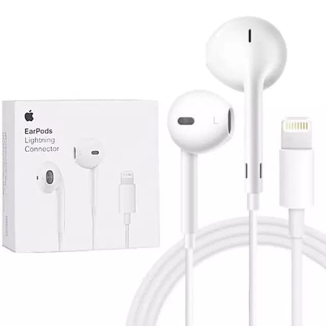 Jual Original Earphone Headset Handsfree Iphone 11 Pro Max Usb Lightning Jakarta Pusat Factory Acc Tokopedia