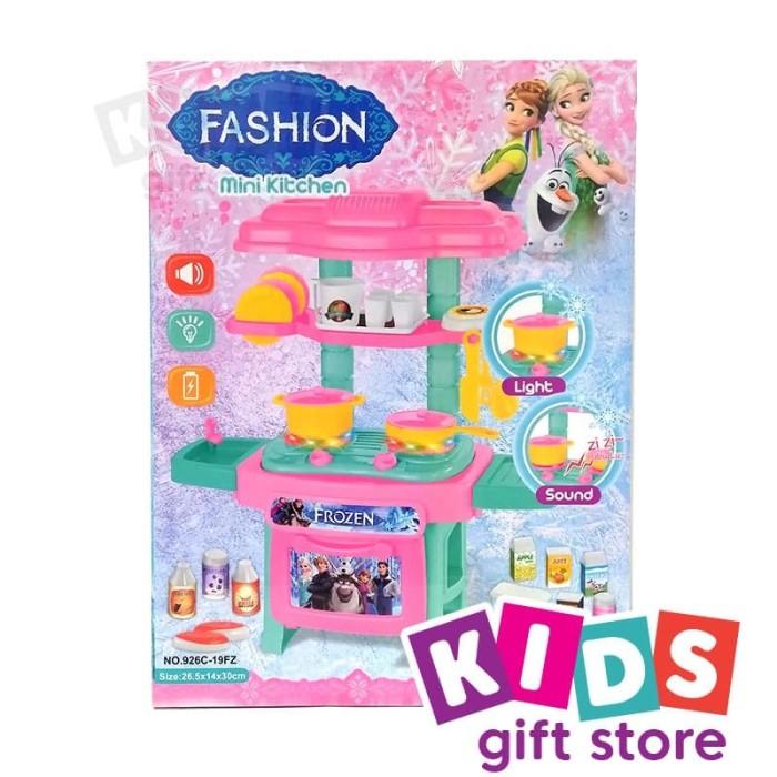 Jual Mini Kitchen Frozen Mainan Memasak Jakarta Barat Kids Gift Store Tokopedia