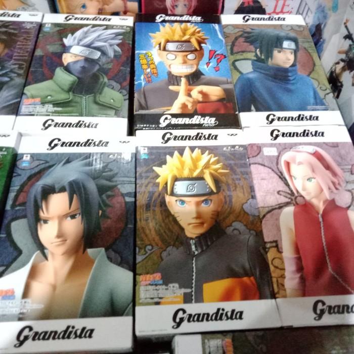 Jual Grandista Naruto Sasuke Sakura Kakashi Nero Jakarta Barat Cokkyandbrothers Tokopedia