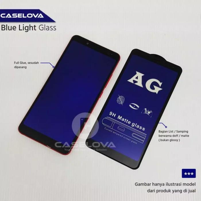 Foto Produk Tempered Glass Asus Zenfone Max Pro M1 Matte Anti Blue + Anti Minyak dari Surya Cell Sparepart