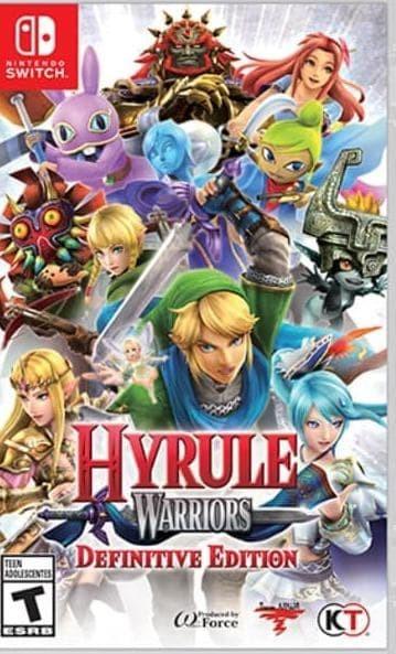 Jual Sale Hyrule Warriors Definitive Edition Usa Switch Kota Bandung Adresiamarket Tokopedia