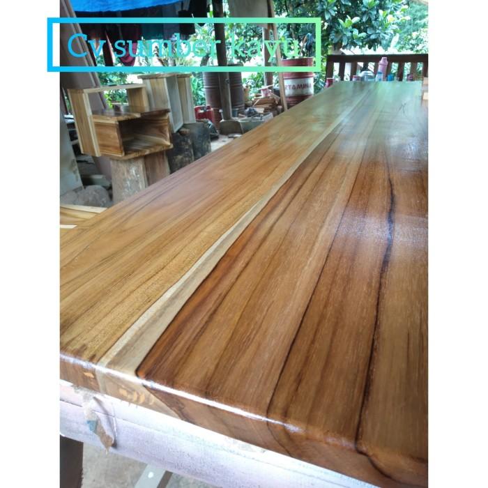 Jual Top Table / Daun Meja Kayu Jati / Daun Meja Kitchen Set Uk 150x80x3cm - Kab. Lebak - Cv Sumber Kayu | Tokopedia