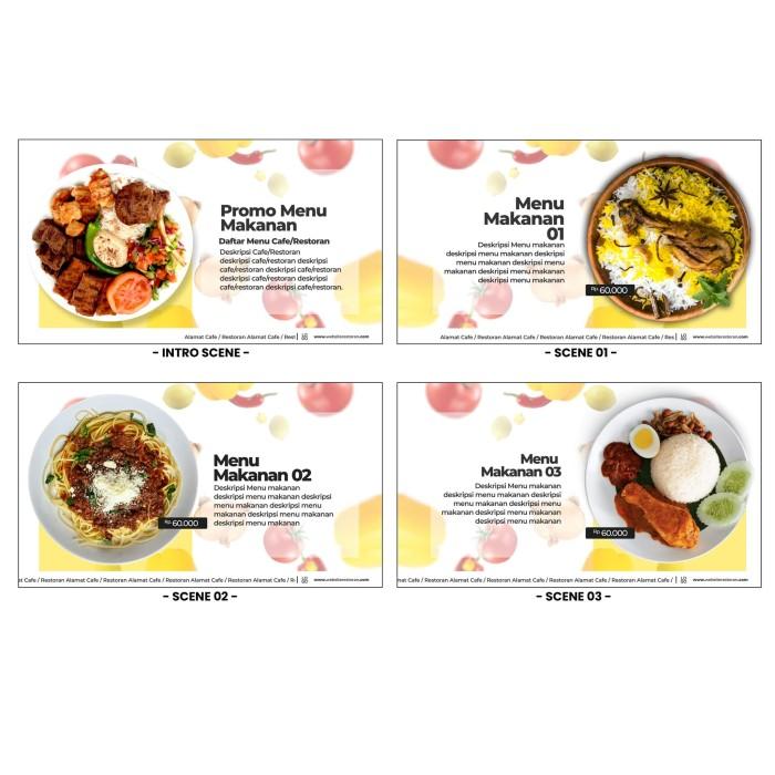 Jual Desain Video Promosi Food Menu Promo Kab Bandung Satuhati Multimedia Tokopedia