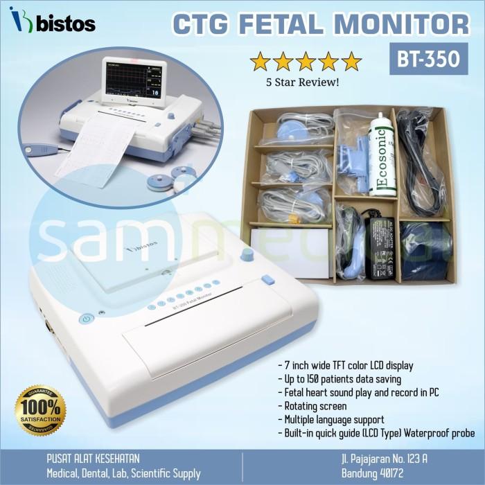 Jual Bistos Ctg Fetal Monitor Fetal Monitor Bayi Kembar Lcd 7