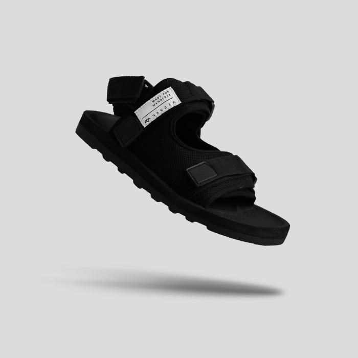 Foto Produk Sandal Casual Pria Navara 2 Strap Black - 39 dari Navara Footwear Official