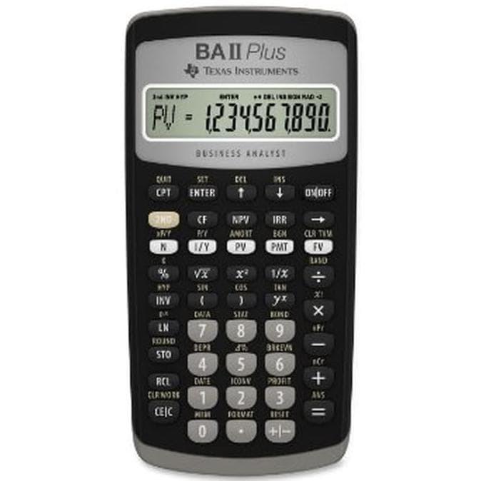 Jual Best Seller Texas Instruments Ba Ii Plus Financial Calculator Best Jakarta Barat Endah Mall Tokopedia