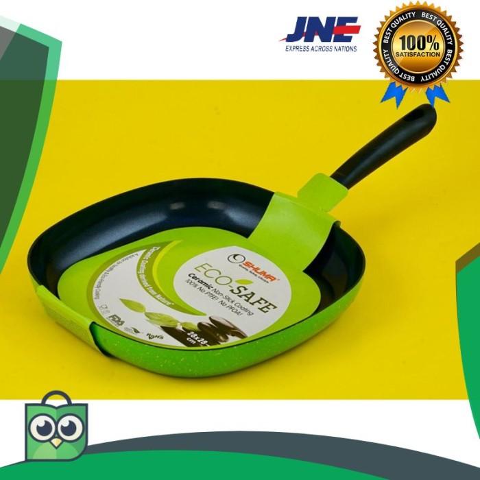 Foto Produk terlaris Eco Safe Nonstick Ceramic Grill Pan 28x28 Cm Shuma elegan dari rumah laris 88