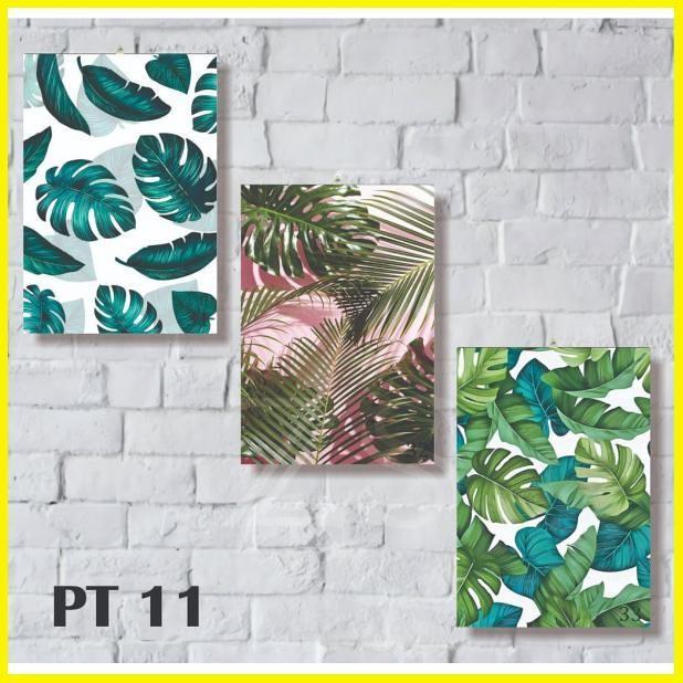 Jual 3 Pcs Wall Decor Poster Kayu Tanaman Bunga Dan Abstrak Hiasan Dinding Jakarta Selatan Tricworks Tokopedia