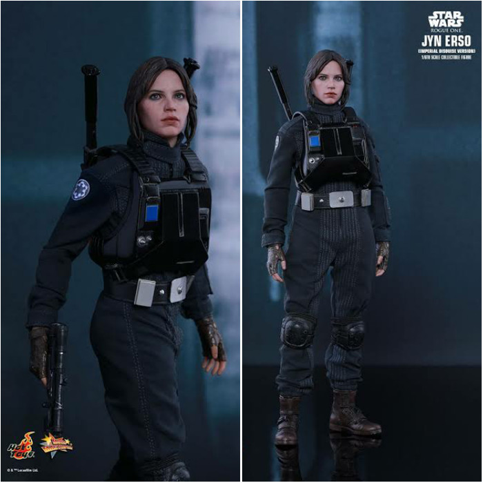 Imperial Disguise Version Hot Toys MMS 419 Star Wars Rogue One Jyn Erso NEW