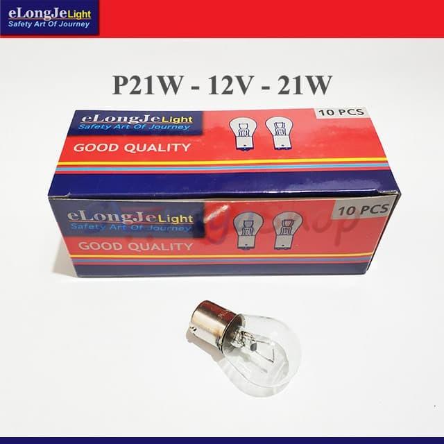 Foto Produk Lampu P21W 12V - Sein / Riting / Mundur Elongje dari Seraya Shop