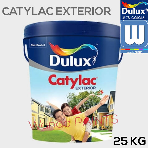 Jual Cat Tembok Dulux Catylac Exterior Ready Mix 25 Kg Jakarta Barat Wanda Paints Tokopedia