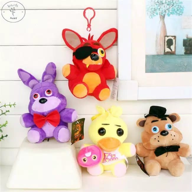 Koala Stuffed Animals Mini, Jual 1 Set 2pcs Boneka Fnaf Foxy Nightmare Five Nights Freddy Kota Semarang Cutepeppa Tokopedia