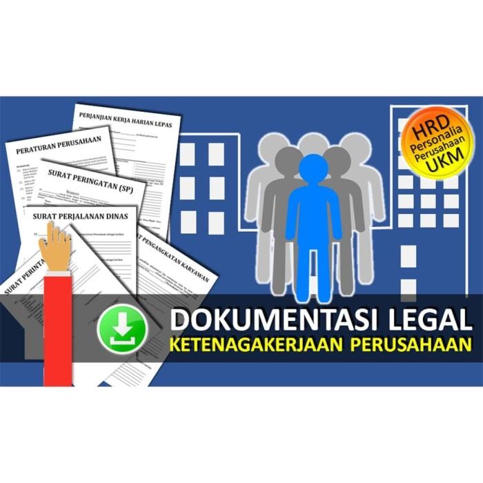 Foto Produk Draf Dokumen Ketenagakerjaan dari Legal Akses