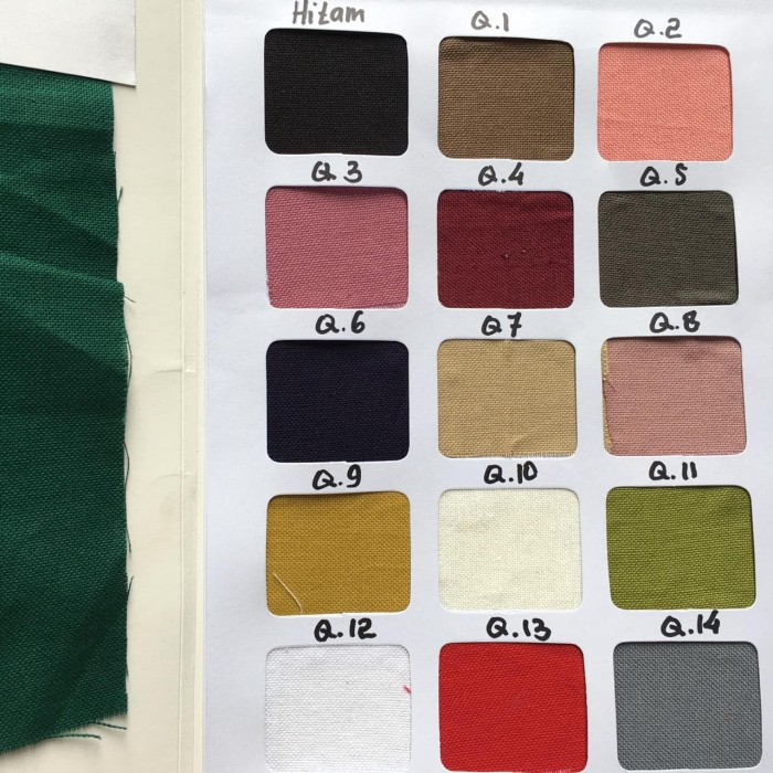 Foto Produk Bahan Kain Linen Euro per 1/2 meter murah #linen dari Aihara Textile Fashion