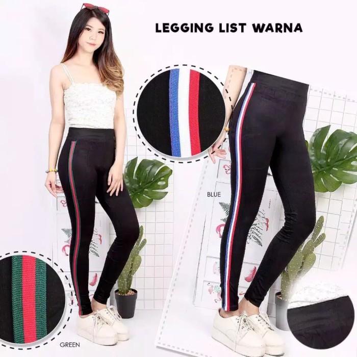 Jual Celana Legging List Warna Import Quality Jakarta Barat G Jfsh Tokopedia