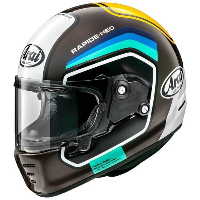 Foto Produk Arai SNI Rapide Neo Number Helm Full Face - Brown - M dari Arai Indonesia