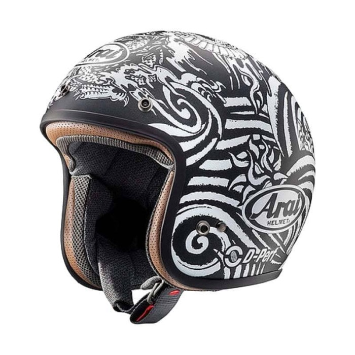 Foto Produk Arai SNI Classic Mod Art Helm Half Face - Black - M dari Arai Indonesia