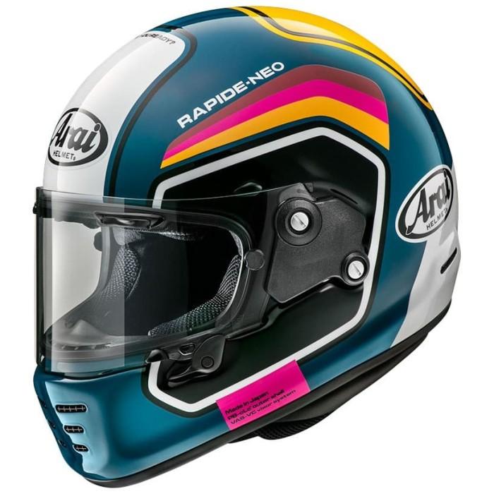 Foto Produk Arai SNI Rapide Neo Number Helm Full Face - Blue - M dari Arai Indonesia