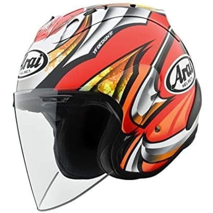 Foto Produk Arai SNI SZ Ram 4 Nakagami Helm Half Face - M dari Arai Indonesia