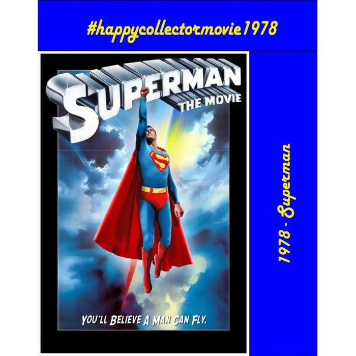 Jual Dvd Superman 1978 Jakarta Selatan Happyc Shop Tokopedia