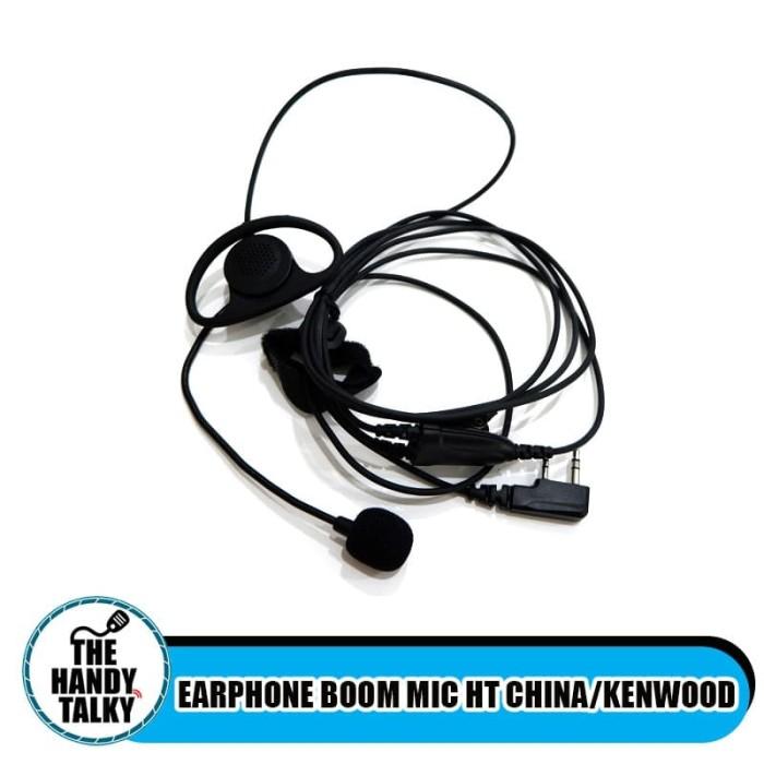 Foto Produk EARPHONE BOOM MIC HT CHINA/Kenwood dari The Handy Talky