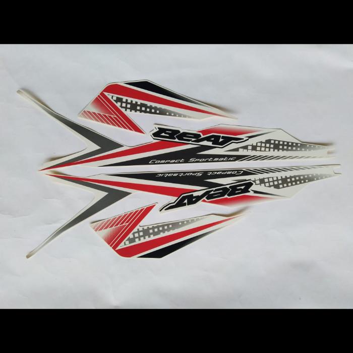 Jual Stiker Striping Honda Beat 2020 Putih Kab Bogor Stripingbogor Tokopedia