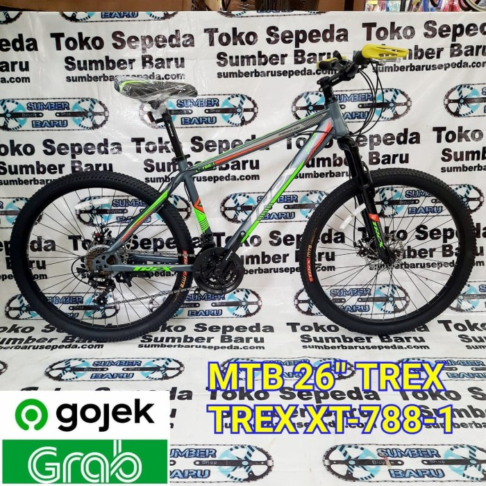 Jual SEPEDA GUNUNG MTB 26 TREX XT7881 NEW MOUNTAIN BIKE