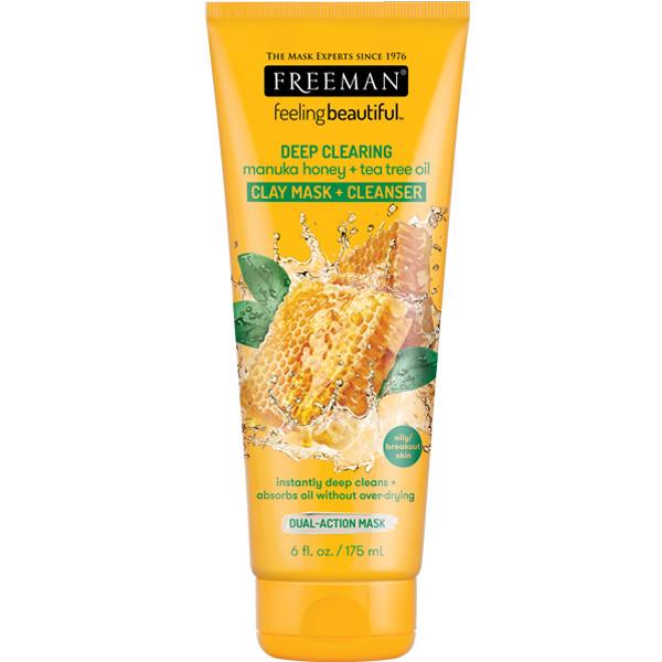 Foto Produk Freeman Deep Clearing Manuka Honey & Tea Tree Oil Clay Mask 175ml dari Freeman Official Store