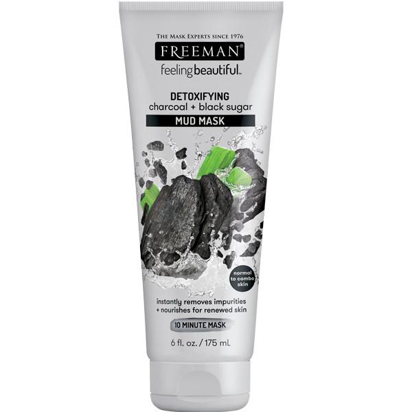 Foto Produk Freeman Detoxifying Charcoal & Black Sugar Mud Mask 175ml dari Freeman Official Store