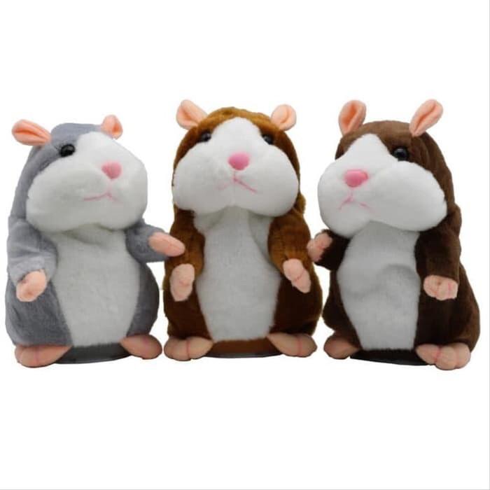Jual Mainan Boneka Talking Hamster Lucu Peniru Rekam Suara Bisa Bergerak Jakarta Utara Luna Store99 Tokopedia