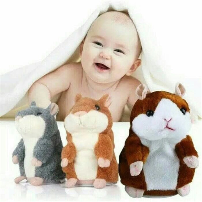 Jual Mainan Boneka Talking Hamster Lucu Peniru Rekam Suara Bisa Bergerak Jakarta Timur Wulan Store96 Tokopedia