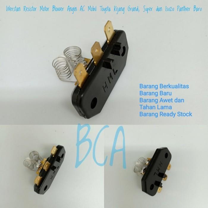 Foto Produk Werstan Resistor Motor Blower Angin AC Mobil Toyota Kijang Grand dari galuhstore2020