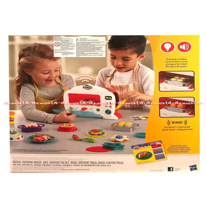 Jual Mainan Bayi Play Doh Kitchen Oven Mainan Masak Masak Mainan Lilin Kab Kuningan Rizki Sudiati Tokopedia