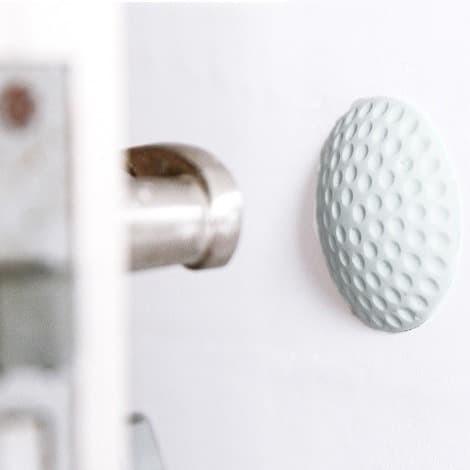 Foto Produk Makle Putih | pengaman pegangan pintu dinding tempel penahan benturan dari Mendekor
